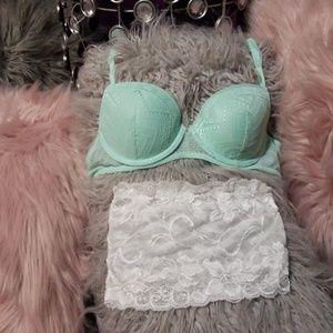 Flirtitude bra and bralette combo